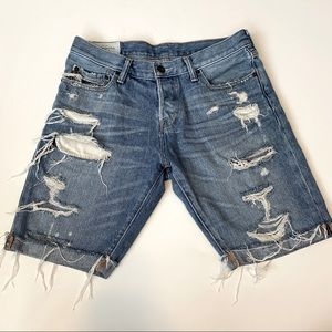 Abercrombie & Fitch The A&F Skinny Jean Shorts